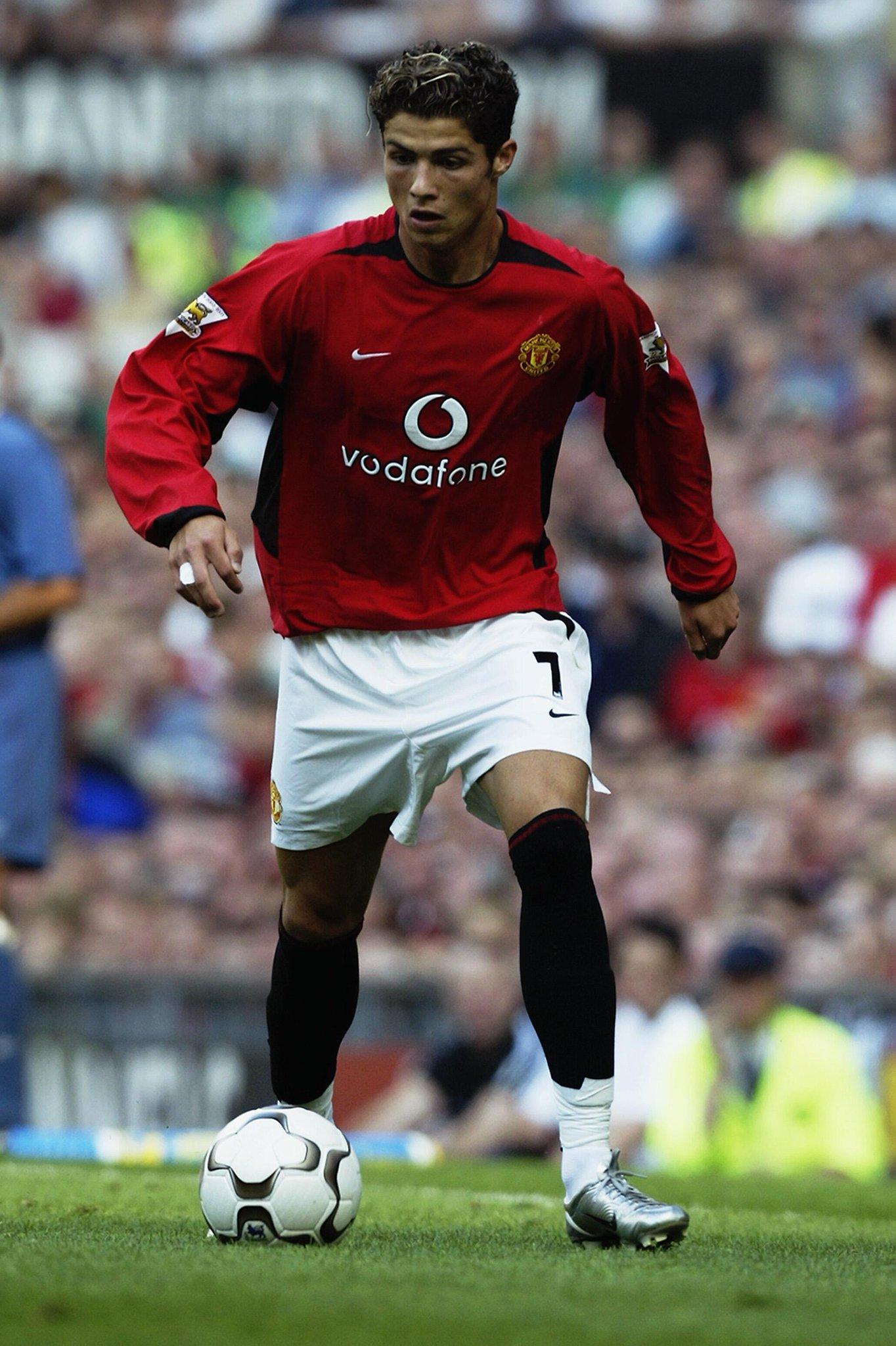 Cristiano Ronaldo Braces : cristiano, ronaldo, braces, Premier, League, Twitter:,