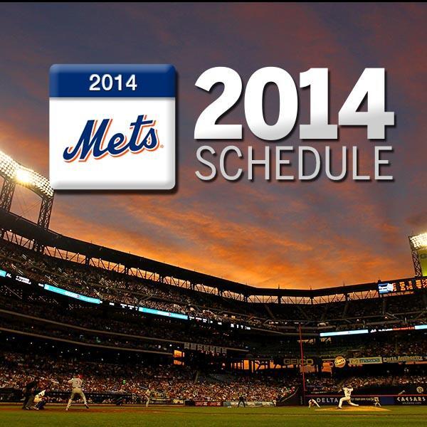 New York Mets on Twitter quotThe Mets 2014 schedule has been