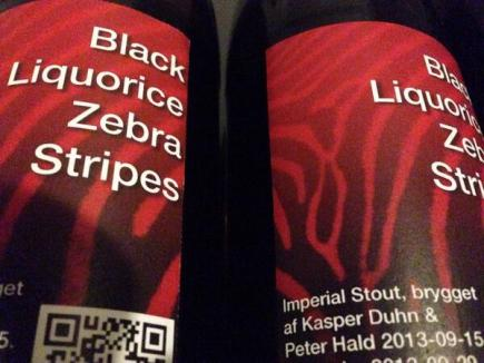 Black Liquorice Zebra Stripes (Imperial Stout)