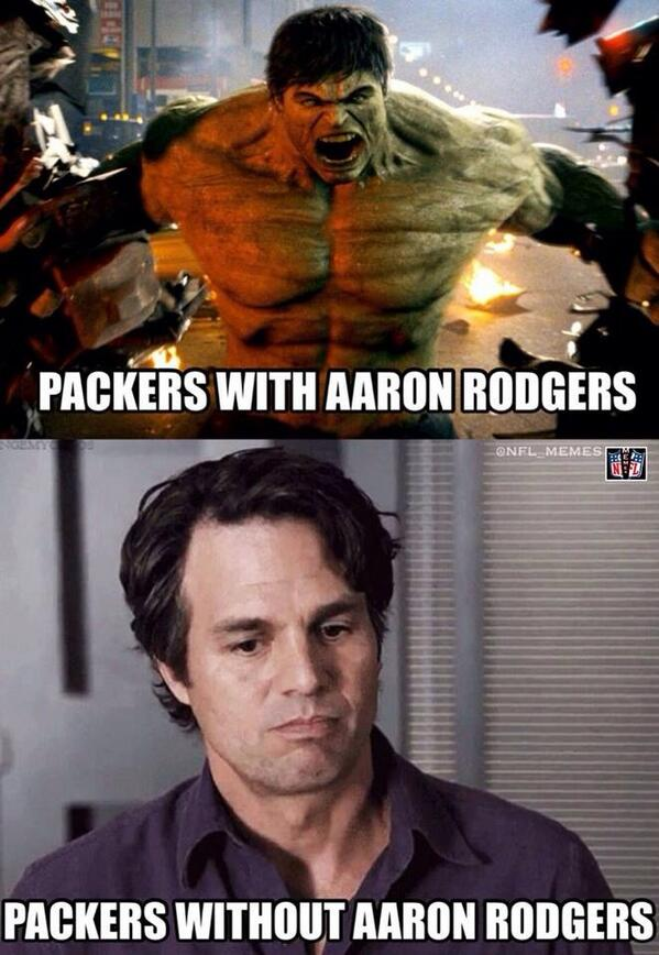Packers Lose Memes : packers, memes, Memes, Twitter:,