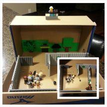 rubric on diorama for kids