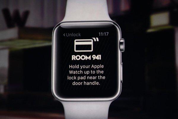 Abrir puerta con Apple Watch