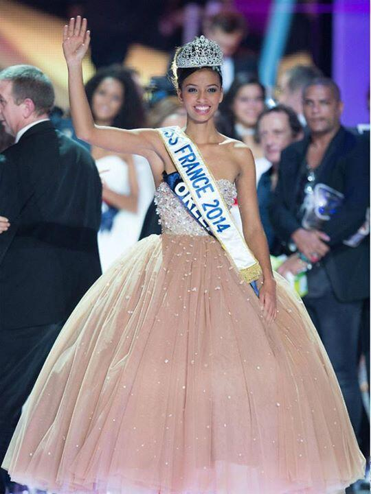 The new Miss France, Flora Coquerel