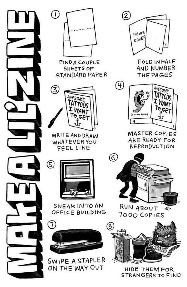 Spill The Zines!