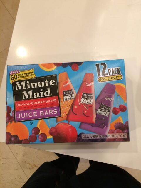 Minute Maid Juice Bars 90s : minute, juice, Minute, Juice, School, Crafts, Ideas