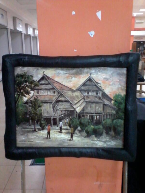 Lukisan Rumah Adat : lukisan, rumah, Indonesia, Kreatif!, Twitter:,