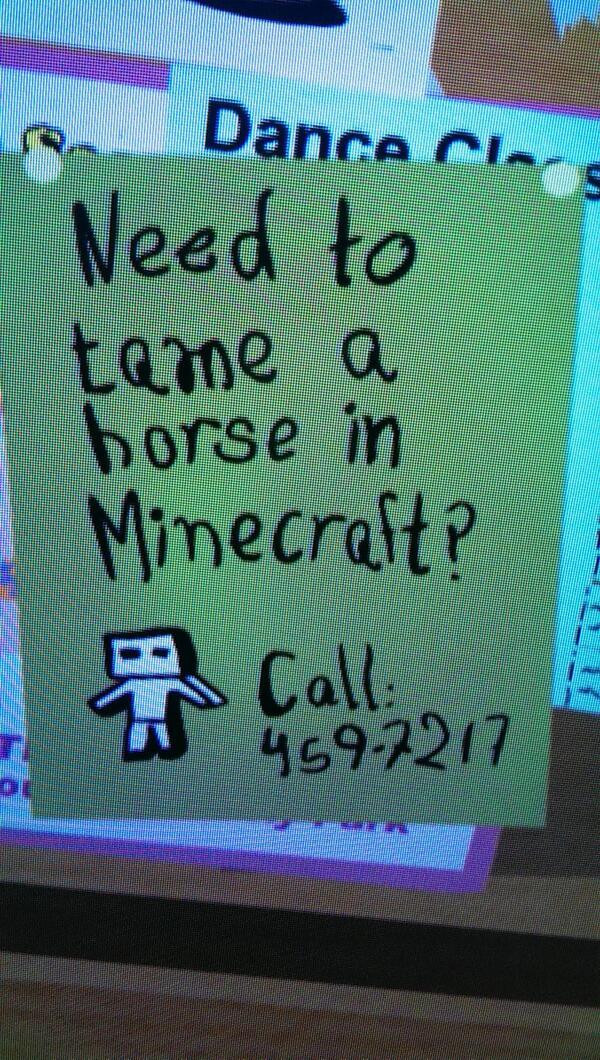 Apprivoiser Un Cheval Minecraft : apprivoiser, cheval, minecraft, SavoirCraft, Twitter:,