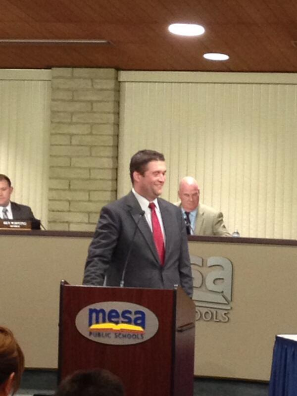Mesa Public Schools on Twitter Welcome Jared Ryan