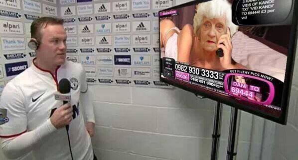 Fat old granny
