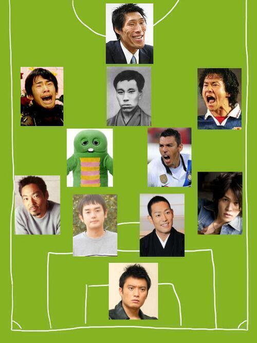 test ツイッターメディア - サッカーそっくり日本代表 https://t.co/clo8hB7TVM