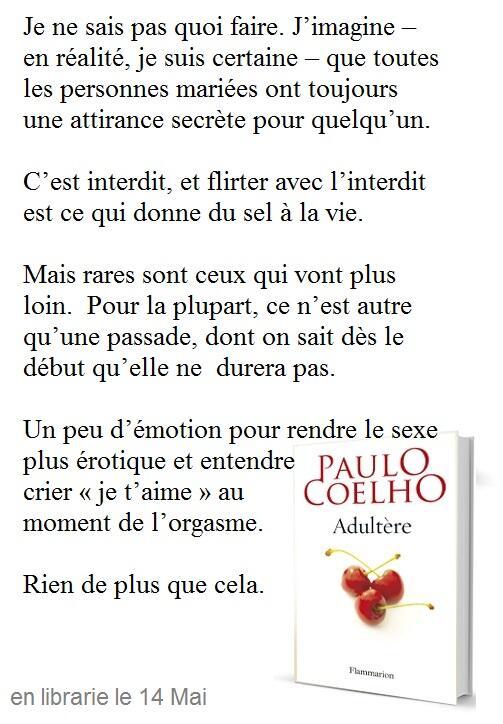 Qu Est Ce Qu Un Adultère : adultère, Paulo, Coelho, Twitter:, @DayaOrihuela,