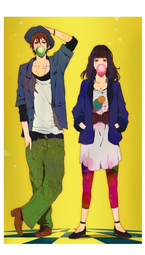 19 Iphone Cute Love Anime Wallpaper Anime Wallpaper