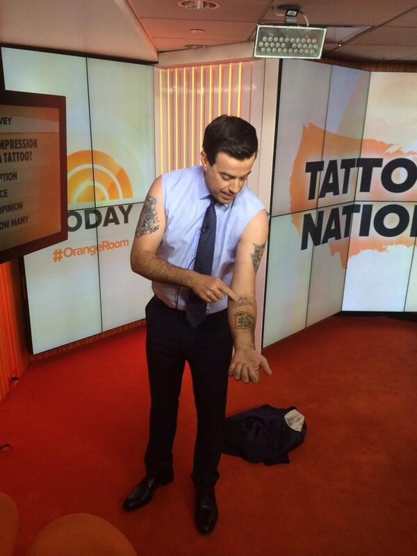 Carson Daly Tattoos : carson, tattoos, TODAY, Twitter:,