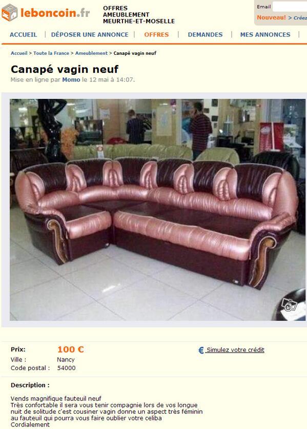 rt jmnl ce magnifique canape vagin
