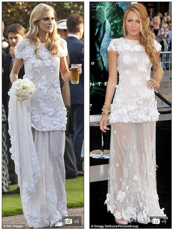 Who wore @chanel best? @delevingnepoppy's wedding dress vs