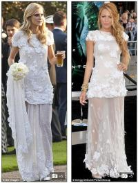 Who wore @chanel best? @delevingnepoppy's wedding dress vs
