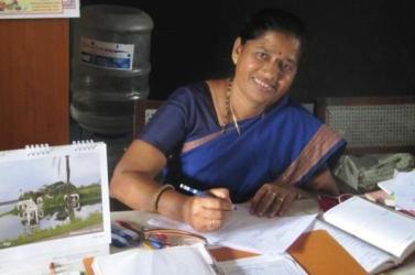 Indian Teacher Drawing 2