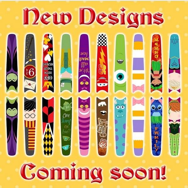 """DisneyLifestylers on Twitter: """"New Disney MagicBand decal"""