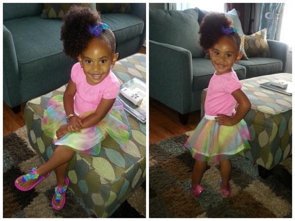 Blackhairinformation On Twitter Cute Little Girl S Afro Puff
