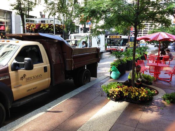 brickman group landscaping - big