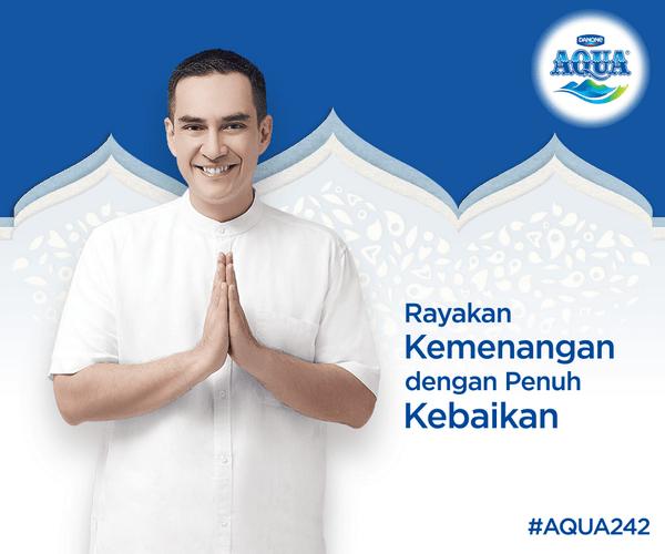 Aqua On Twitter Aqua Mengucapkan Selamat Hari Raya Idul Fitri