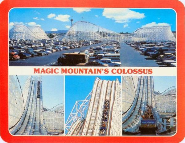 Theme Park Review The Six Flags Magic Mountain SFMM