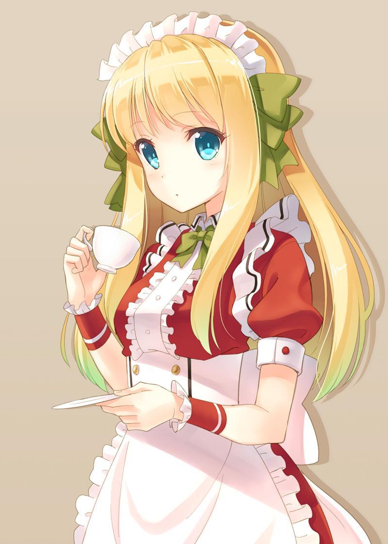 Cute Manga Girl Wallpaper 日向あずり On Twitter Quot 久々にオリジナル。休憩中のメイドさん。 Http T Co Lwjdtsbwn3 Quot