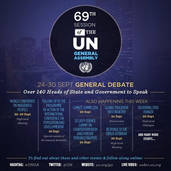 69th Session of the UN General Assembly