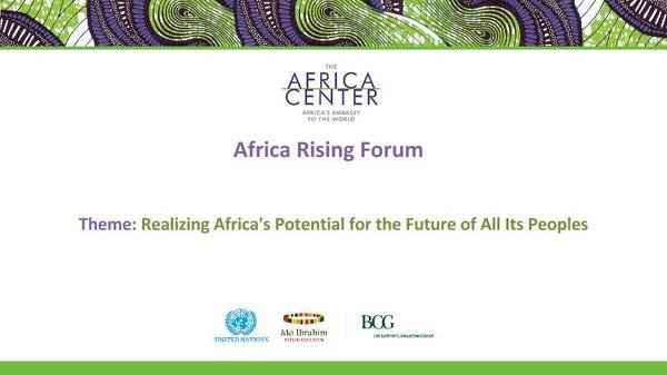 Africa Rising Forum