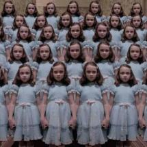 Creepy Shining Twin Girls