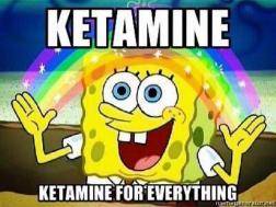Image result for ketamine cartoon