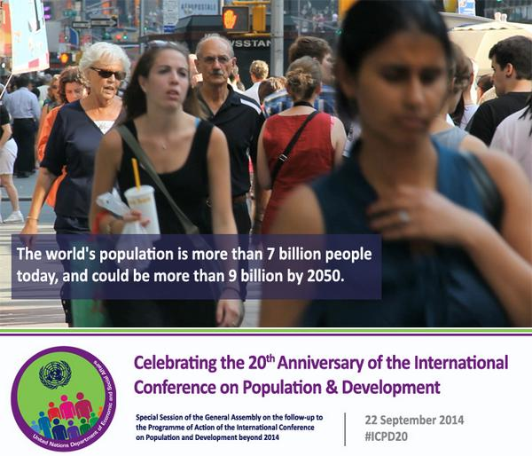 20th Anniversary of the International Conference on Population and Development
