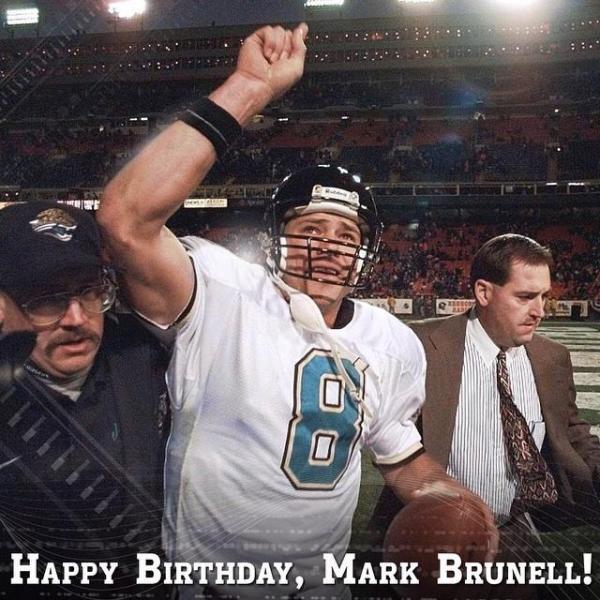 Mark Brunell39s Birthday Celebration HappyBdayto