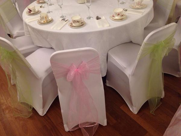 chair cover hire rugeley reclining salon finishing touches twitter wedding last weekend at st joseph s community centre sage green and ice pink for a vintage feelpic com aqv68g8jbb