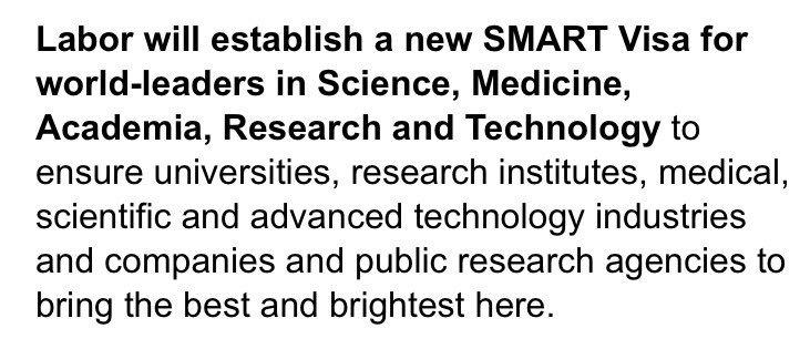 announces researchers pledge SmartVisa raise temp visa fee