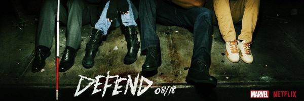 Officiële trailer van The Defenders op Netflix België