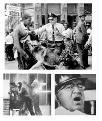 1963, commissioner bull connor used fire hoses & police ...