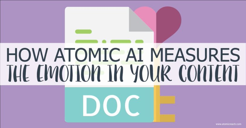 How Atomic #AI Measures The Emotion In Your #Content ​#contentmarketing