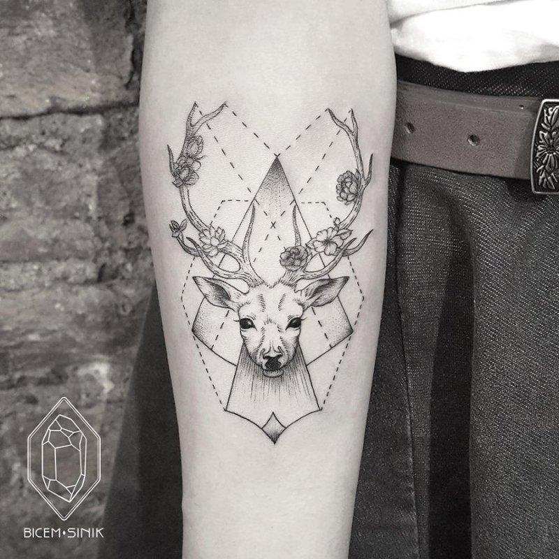 Inspiring Geometric Animal Tattoos By Bicem Infloz On Forms
