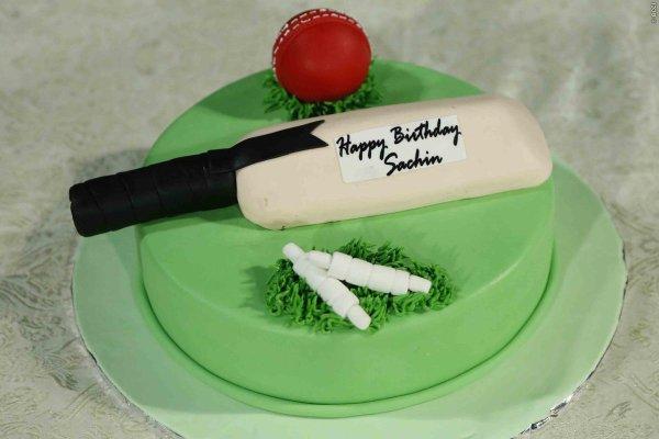 Happy Birthday Cricket Cake