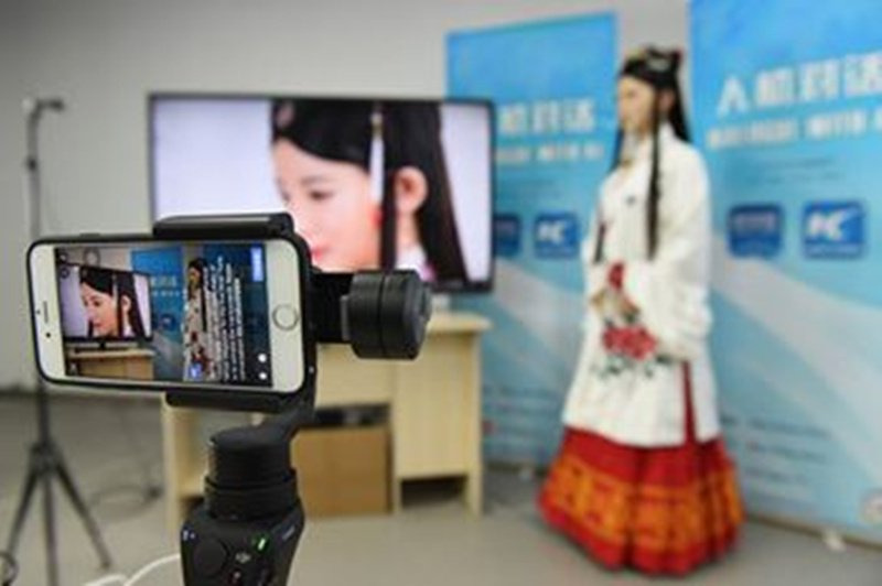 #AI interviews impress us! This Chinese robot #Jiajia could revolutionize journalism