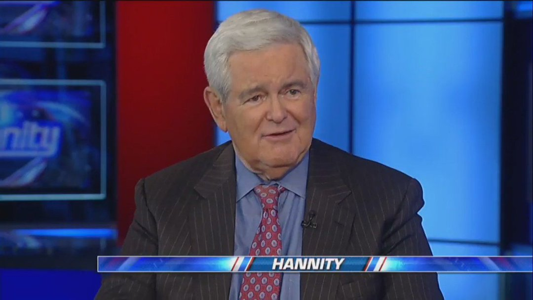 """.@NewtGingrich: """"I really commend @TedCruz, this is a positive building block, moves us in the right direction."""" #Hannity"""
