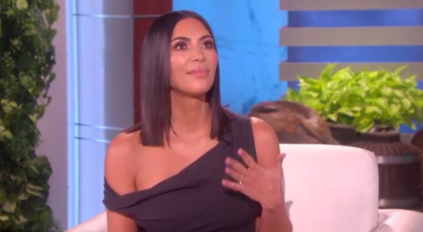 Kim Kardashian gets emotional talking about Paris robbery with Ellen