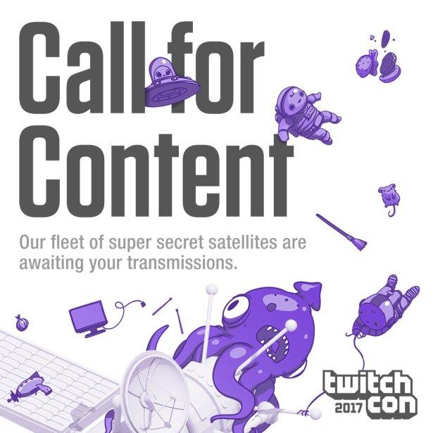 Divulgação da TwitchCon 2017