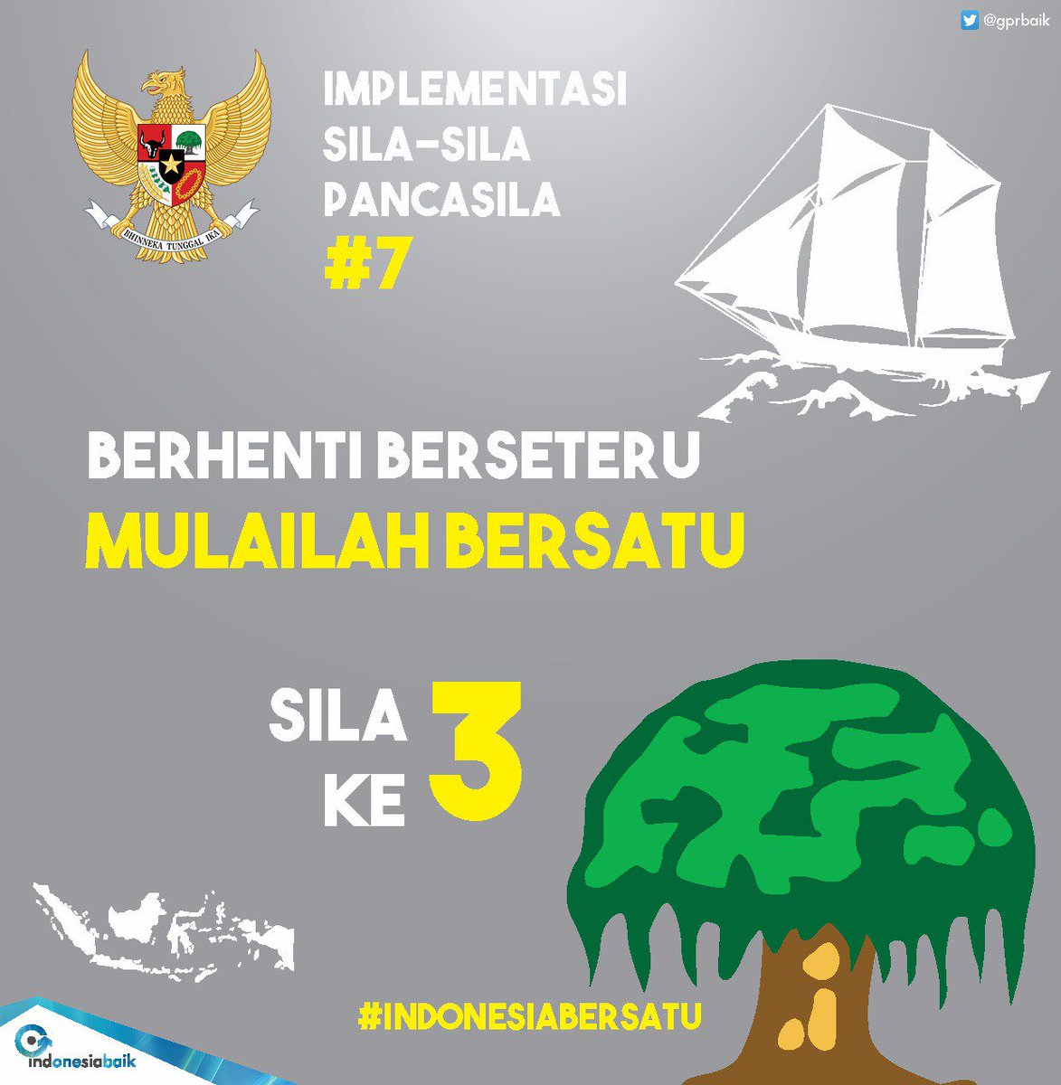 Hasil gambar untuk sila ke 3 persatuan indonesia