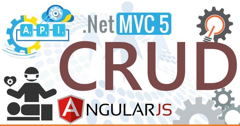 #CRUD Operations in #MVC 5 Using #WebAPI With #AngularJS by @raj2511984 cc @CsharpCorner