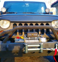 johnny alonso on twitter just installed my badland 12000 lb winch on my jeepwrangler so badass jeeplife offroad johnnyalonso 4x4experience  [ 1200 x 771 Pixel ]