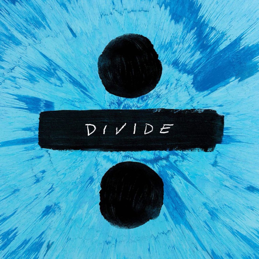 Ed Sheeran ÷ (Divide) Tracklist And Album Cover