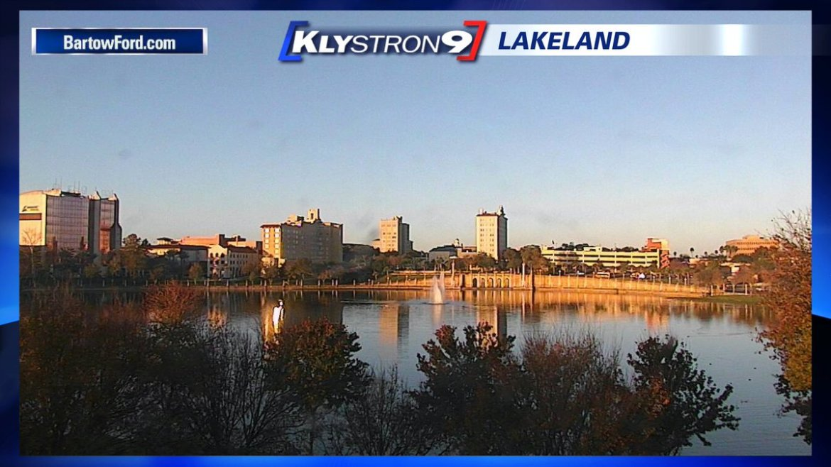 Juli Marquez: It's a beautiful morning! Enjoy the weather the next few days!