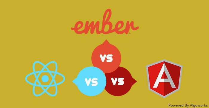 Choosing Right JS Development Framework: #AngularJS vs #ReactJS vs #EmberJS  via @Algoworks